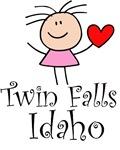 Twin Falls Idaho T-shirts and Gifts