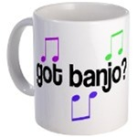 Banjo Mugs For Banjo Lovers!