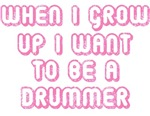 I Want to Be A Drummer Kids Tees & Gifts