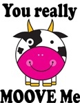 You Moove Me Cow T-shirts And Gifts