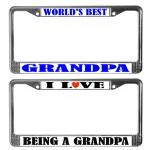 Grandpa License Plate Frames