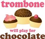 Chocolate Trombone T-shirts and gifts
