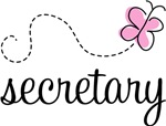 Secretary T-shirts and Gifts