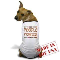 CUTE DOG PRINCESS T-SHIRTS