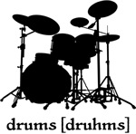 Music Dictionary Drummer Tee Shirt Apparel