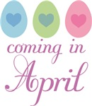 Coming In April Easter Egg Maternity