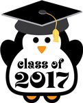 Penguin Class Of 2017 T-shirts and Graduation Gift