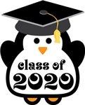 Penguin Class Of 2020 T-shirts and Graduation Gift