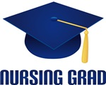 Blue Nursing Graduate T-shirts and Gifts