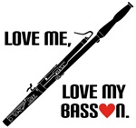 Love My Bassoon Gift T-shirts and Hoodies