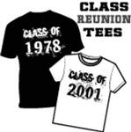 School Class Reunion T-shirts