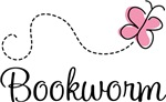 PInk Butterfly Bookworm T-shirt Gifts