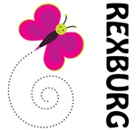 Butterfly Rexburg Idaho Gifts and T-shirts