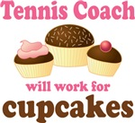 Funny Tennis Coach T-shirts and Gifts