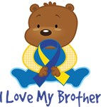 Down Syndrome Brother Teddy Bear T-shirts