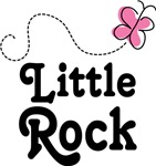 Little Rock Arkansas Butterfly T-shirts and Gifts