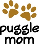 Cute Puggle Mom T-shirts and Gifts