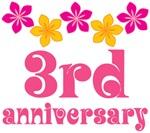 3rd Anniversary Gift Hawaiian Themed
