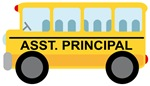 ASSISTANT PRINCIPAL SCHOOL BUS GIFTS AND T SHIRTS