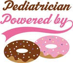 Pediatrician Powered By Doughnuts Gift T-shirts