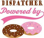 Dispatcher Powered By Doughnuts Gift T-shirts