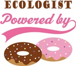 Ecologist Powered By Doughnuts Gift T-shirts