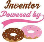 Inventor Powered By Doughnuts Gift T-shirts