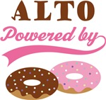 ALTO POWERED BY DONUTS T-shirts
