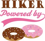 Hiker Powered By Donuts Gift T-shirts