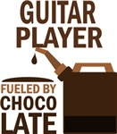 Guitar Player Fueled By Chocolate Gifts