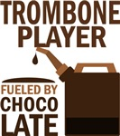 Trombone Player Fueled By Chocolate Gifts