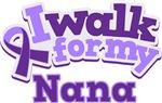 WALK FOR NANA ALZHEIMER'S T-SHIRTS