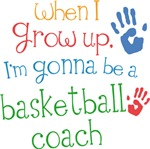 Future Basketball Coach Kids T-shirts