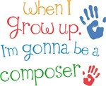 Future Composer Kids T-shirts