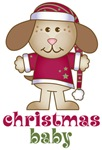 Cute Puppy Christmas Baby Gifts and Tees