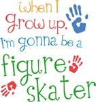 Future Figure Skater Kids T-shirts