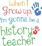 Future History Teacher Kids T-shirts