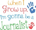 Future Journalist Kids T-shirts