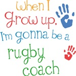 Future Rugby Coach Kids T-shirts