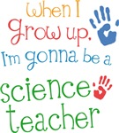 Future Science Teacher Kids T-shirts