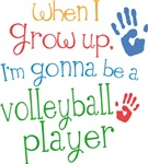 Future Volleyball Player Kids T-shirts