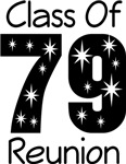 Class Of 1979 Reunion Tee Shirts