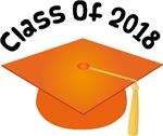 2018 School Class Graduation (Orange)