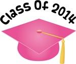 2014 School Class Graduation (Pink)