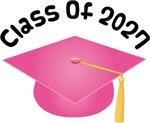 2027 School Class Graduation (Pink)