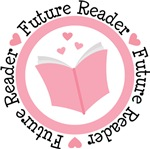 Future Reader Girls T-shirts and Baby Gifts