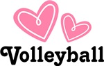 VOLLEYBALL LOVE T-SHIRTS AND GIFTS