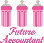 Future Accountant Baby T-shirts