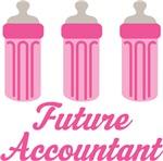 Future Accountant Baby T-shirts