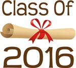 2016 School Class Diploma Design Gifts